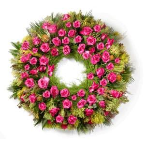 Coroas de flores para funeral