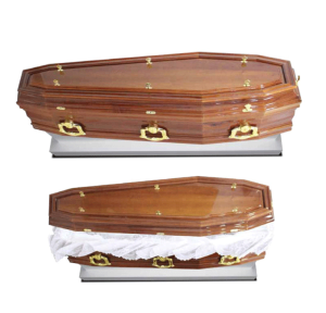 Imagem ilustrativa de urna mortuária padrão platina