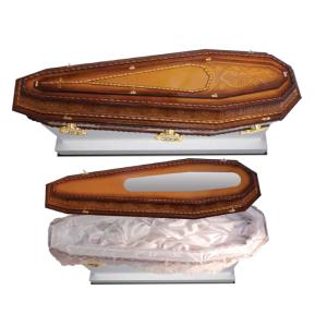 Imagem ilustrativa de urna mortuária padrão prata
