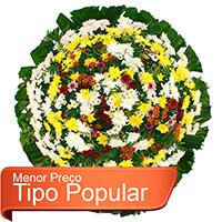 Funerária - Coroa de Flores Popular